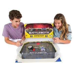 Hex bug battlebots arena (inc two robots) £39.99 - Argos
