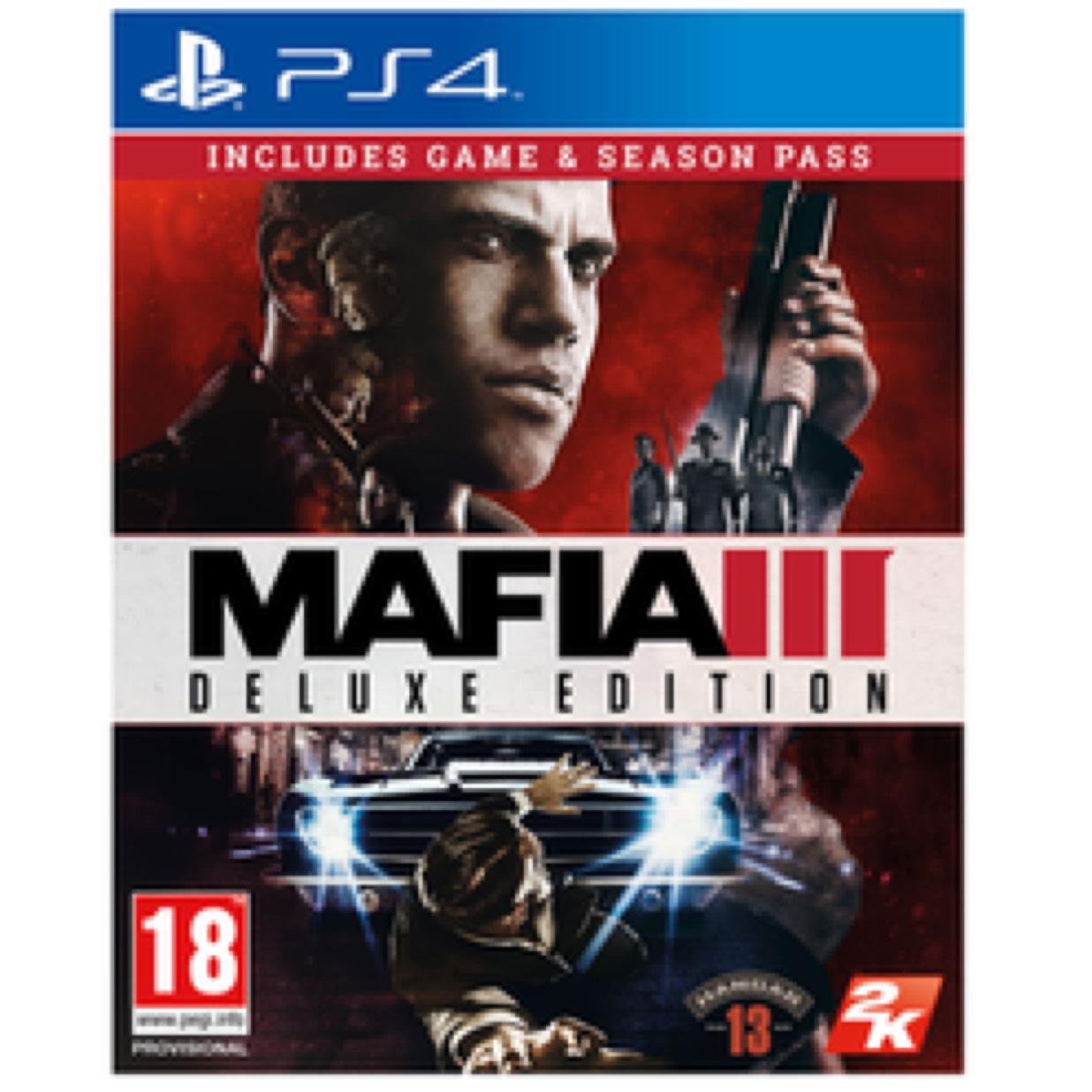 Mafia 3 Deluxe edition (PS4/XB1) £19.99 @ GAME