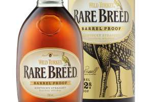 Wild Turkey Rare Breed Bourbon 70cl £32.89 at Amazon. (Whiskey. Whisky)