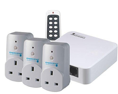 Energenie Starter Set (can use Alexa) [gateway/hub + 3 smart plugs] £42.12 at Amazon (free p&p)