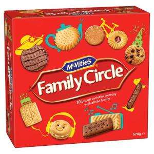 McVitie's Family Circle rollback to just £2 @ Asda
