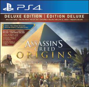Assassins creed origins deluxe edition xb1/ps4/PC £54.99 @ Game
