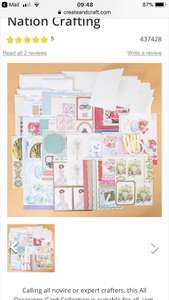 Create and Craft 75 Piece Card Making Kit Just £5 Delivered