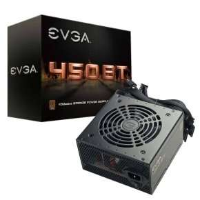 Evga 450 by 450w 80+ bronze psu £28.96 -  Ebuyer