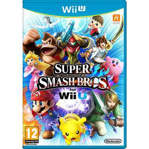 Super Smash Bros. for Wii U - £19.96 Toys R Us collection only