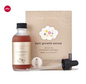 Grow gorgeous hair serum, buy 2 get one free £29.99 Boots