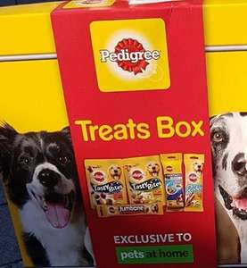 Pedigree Treat Boxes was £6 now £3 instore @ Pets at Home (exclusive)