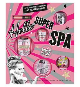 Soap & Glory Hello Super Spa - Was £20, now £15, but also 3 for 2 (3 SETS FOR £30)! @ Boots