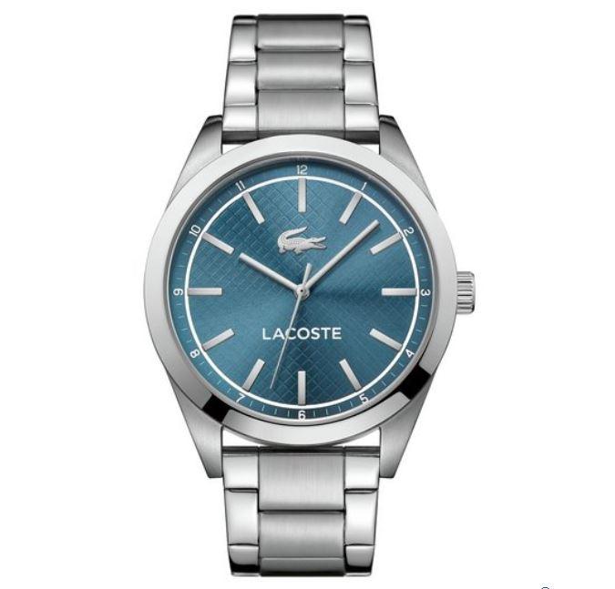 Lacoste Mens' Edmonton Bracelet Watch - Silver Stainless Steel £59.99 @ Argos