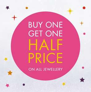 Buy One Get One Half Price on all Jewellery at F Hinds (Including Sale!)