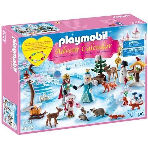 Playmobil Advent Calendar 'Royal Ice Skating Trip' 9008 / Playmobil Christmas on the Farm Advent Calendar £14 each + Free C+C @ Asda George