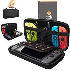Orzly Carry Case Compatible With Nintendo Switch - BLACK £12.99 prime / £16.98 Sold by Orzly and Fulfilled by Amazon