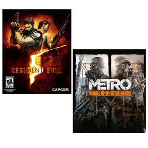 Resident Evil 5 £2.98 / Metro Redux Bundle PC £4.25 using VIP code (SEE OP) @  Green Man Gaming