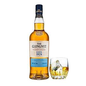 Glenlivet Founder's Reserve Single Malt Scotch Whisky, (70 cl) was £32.00 now £20.00 @ Amazon Prime