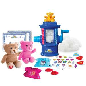 Build-A-Bear Workshop Stuffing Station (Includes 2 bears) + Build-A-Bear Snowflake Bear Soft Toy - £29.97 delivered with code/offer stack @ Toys R Us