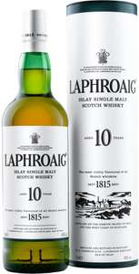 Laphroaig 10 Year Old Islay Single Malt Scotch Whisky, (70 cl) was £37.00 now £28.50 @ Waitrose