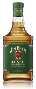 Jim Beam Pre-Prohibition Style Kentucky Straight Rye Whiskey, 70 cl - Amazon Prime Now - £18