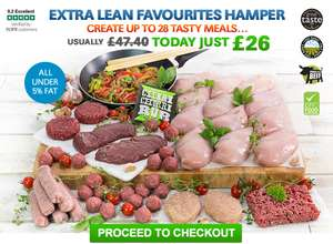 Extra Lean Meat Hamper - £26 (£21.40 off) £29.99 Delivered @ MuscleFood