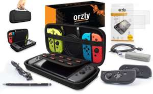 Orzly Nintendo Switch Accessories Bargain Bundle! £9.99 Dispatched from and sold by Orzly - Amazon
