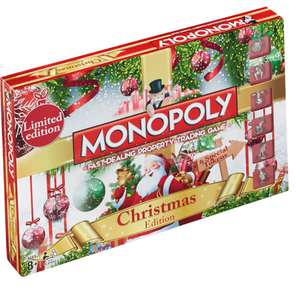 Monopoly Christmas Edition £19.99 Delivered @ IWOOT - Using code