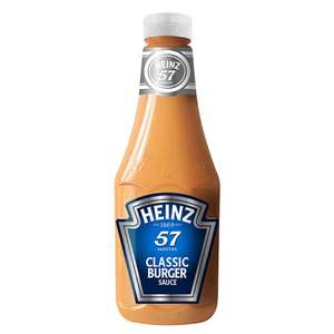 Heinz Classic Burger Sauce 875ml reduced to clear £1.50 instore @ Iceland