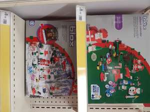 "Wilkinsons Blox (note*This is NOT lego and has no affiliation with connective blocks that are called lego, this is a cheap copy of ""lego"") Christmas advent calendar.. £8"