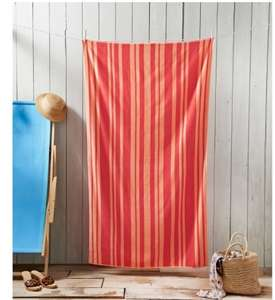 Oversized Jacquard Beach Towel (various colours) 100 x 180cm £1 @ B&M In store