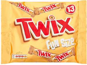 Twix Biscuit Fingers (13 per pack - 275g) was £1.59 now ONLY £1.00 @ Poundstretcher