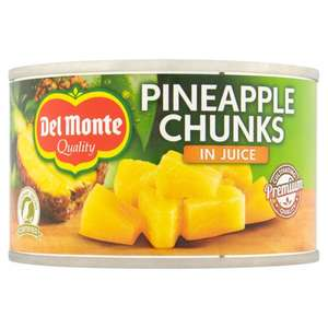 DEL MONTE PINEAPPLE CHUNKS (227g) ONLY 49p @ Poundstretcher
