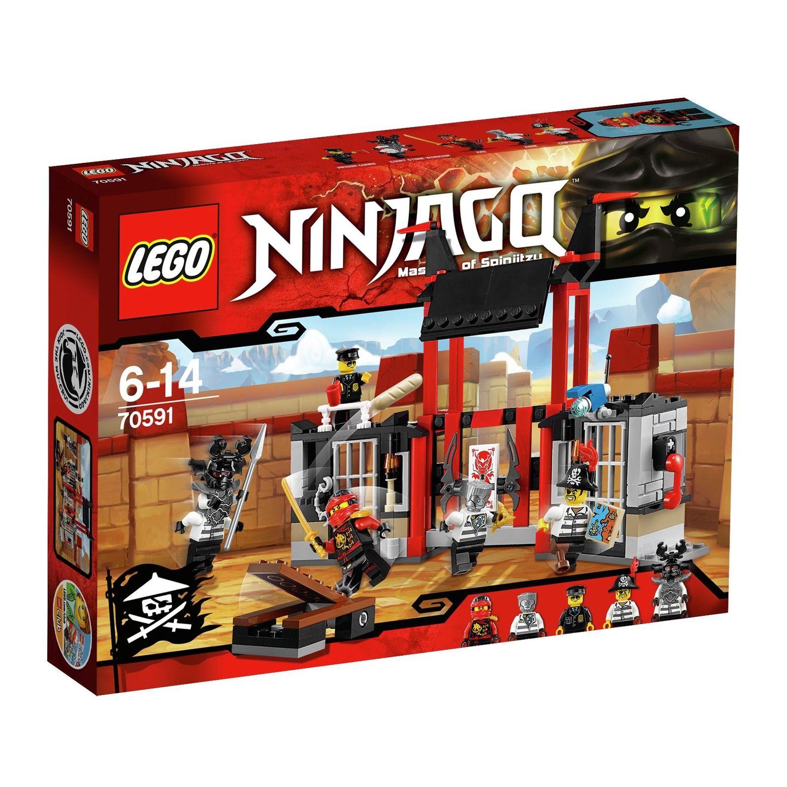 Lego Ninjago Kryptarium Prison Outbreak £12.99 [70591] @ Argos Ebay