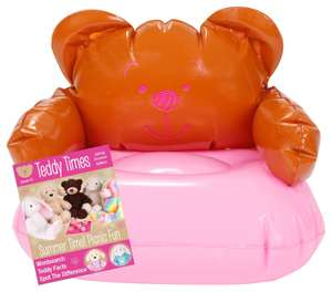 Chad Valley Designabear Chill Out Inflatable Chair + Copy of Teddy Times £2.99 delivered @ Argos eBay