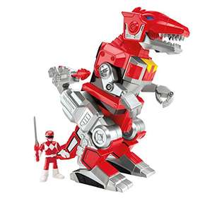 Imaginext CJP64 Power Rangers Red Ranger And T-Rex Zord Figure £17 (Prime) £20.99 (Non Prime) @ Amazon