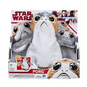 STAR WARS The Last Jedi Porg Electronic Plush Doll Pre Order £36.58 @ Amazon