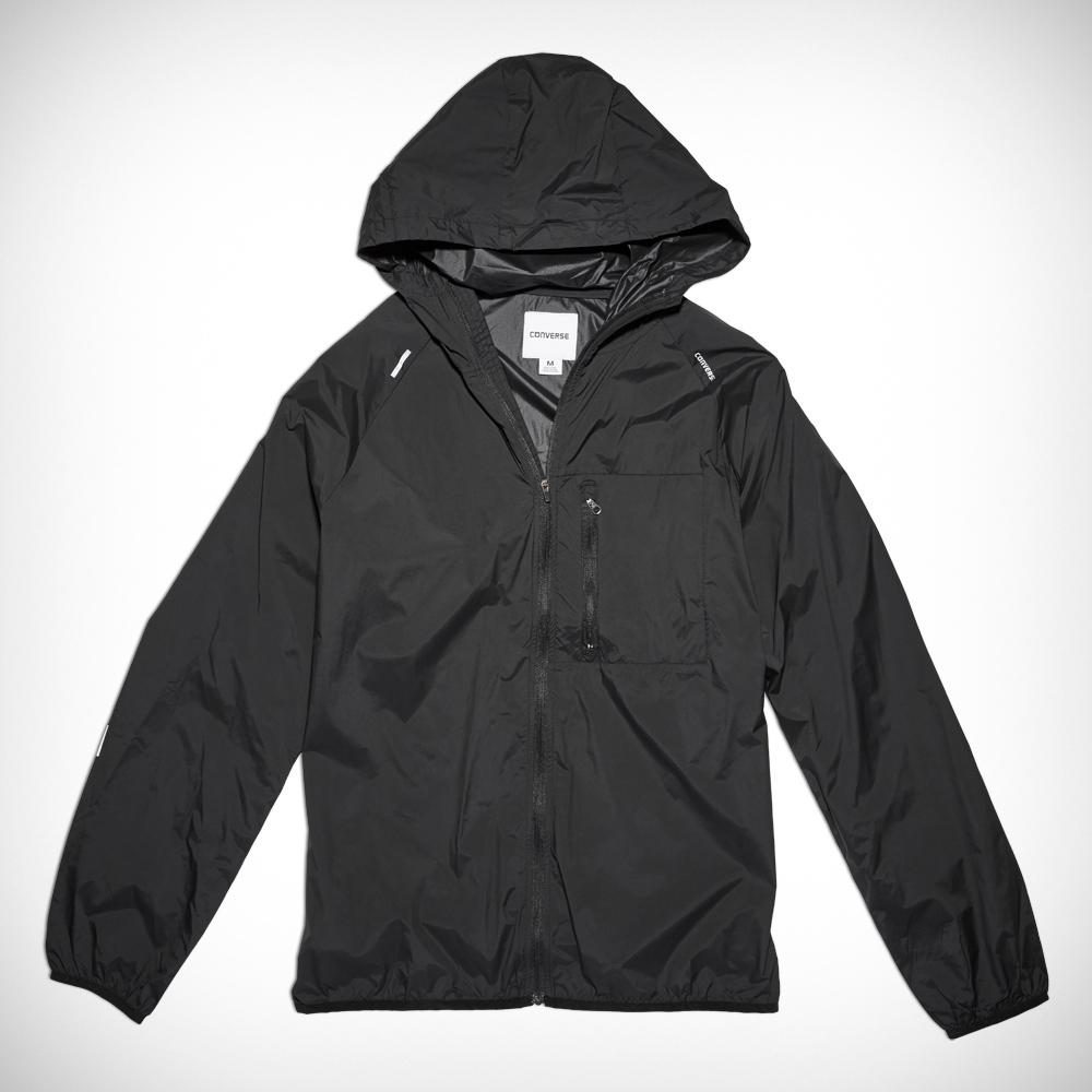 Men's Blur Nylon Jacket - Black Or Orange - now £24.99 delivered (£21.24 with NL sign up)  @ Converse
