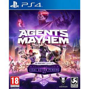 Agents of Mayhem - Day One Edition (PS4/Xbox One) £14.95 @ TheGameCollection