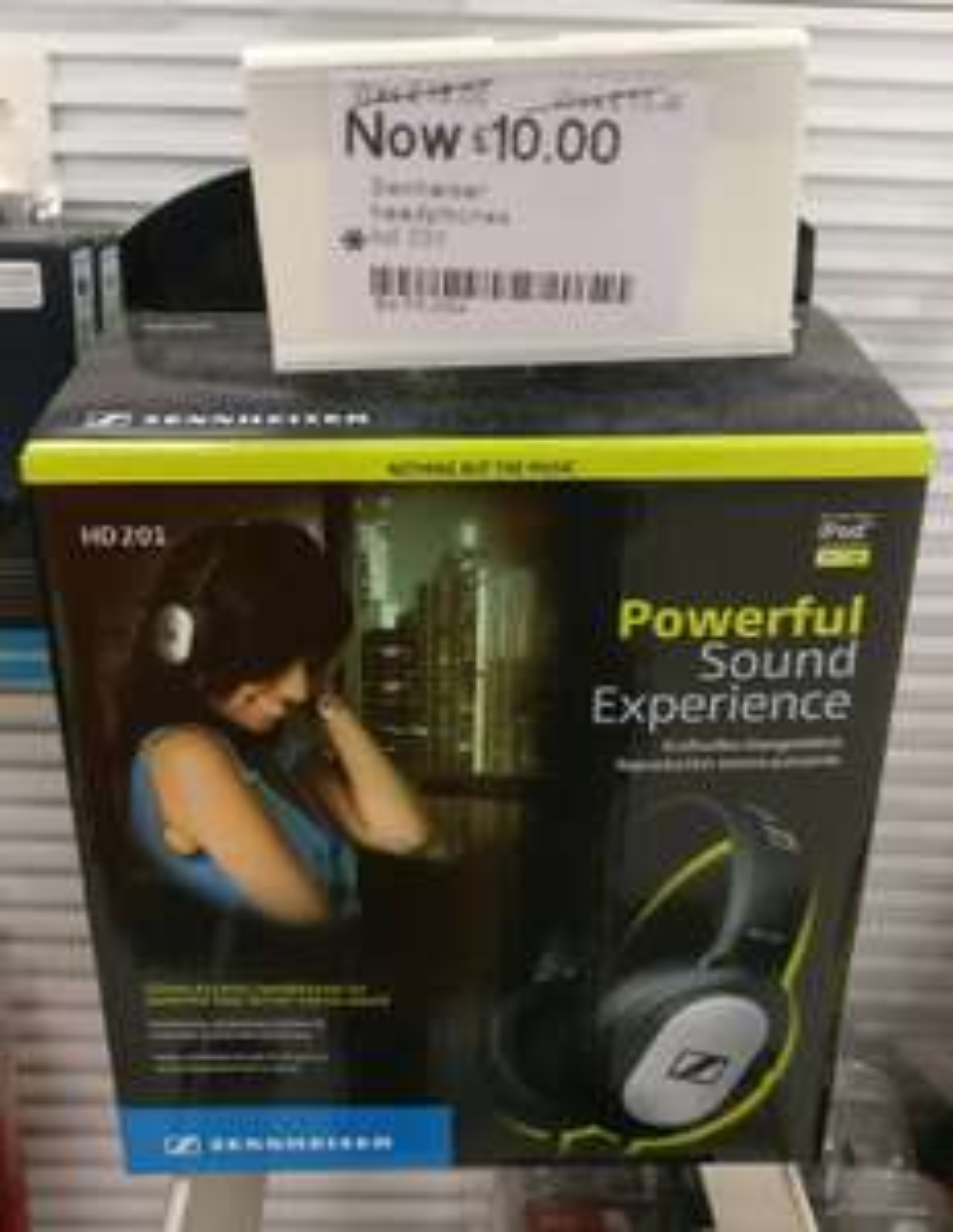 Sennheiser HD-201 headphones £10 instore @ Boots