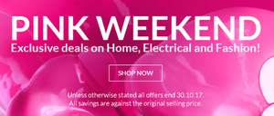 Pink weekend sale started early on Very