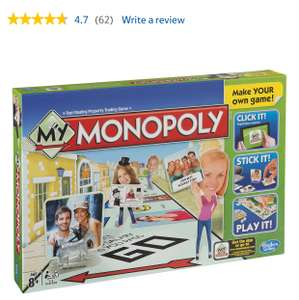 MY MONOPOLY down to £10.33 delivered available from TESCO and THE ENTERTAINER