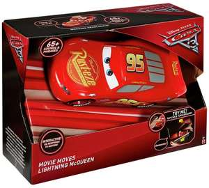 Disney Cars 3 Movie Moves Lightning McQueen (was £31.99) £15.99 @ Argos