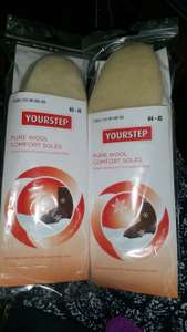 Fleece, Pure Wool Or Aluminium Options - Twin Pack Of Comfort Soles, Sizes 3½ – 11 In Store @ Lidl (Wool Option Great For Uggs Wearers?)