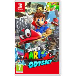 Nintendo Switch Super Mario Odyssey £36.99 with code delivered @ Toys R Us