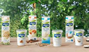 Alpro Fresh Soya vegan milk + other varieties - Any 3 for £3 @ Iceland