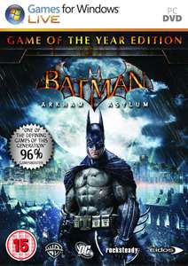 Batman : Arkham Asylum - Game Of The Year Edition (PC Steam) £1.99 - CD Keys