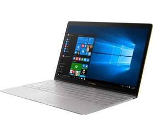"ASUS ZenBook 3 UX390 12.5"" Laptop - Grey - i7-7500, 16GB RAM, 512GB SSD - £899.99 Currys"