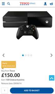 Xbox One Console 500GB £150 @ Tesco Direct