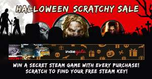 Indiegala Halloween Scratchy Sale. Games from 23p, plus freebies