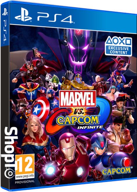 Marvel vs Capcom Infinite [PS4/XO] + Two alternative costumes Warrior Thor and Evil Ryu £23.86 @ ShopTo