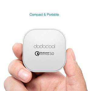 dodocool Quick Charge 3.0 USB Charger 18W £6.99 (+£3.99 non-prime) Sold by aoputek and Fulfilled by Amazon
