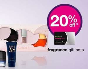 Superdrug Save 20% on selected Fragrance Gift Sets - Beauty Card Members.