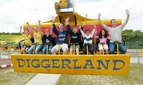 2 for 1 Diggerland Tickets via Free Downloadable Voucher at Littlebird (Children under 90cm FREE)